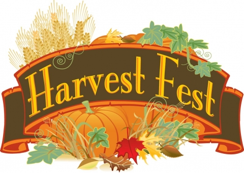 Invitation to The harvest Festival