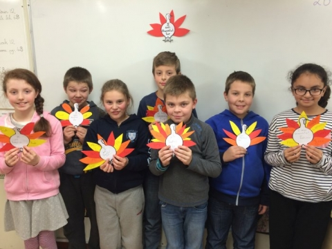 Thanksgiving Fourth Class: 26th Nov