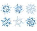 Creating Snowflakes in Art Class