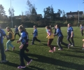 Girls Tag Rugby Blitz in Garryowen