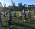 Girls Tag Rugby Blitz in Garryowen