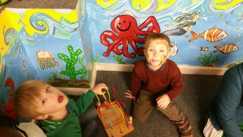 Infants Trip to O'Mahonys Book Store