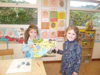 On Safari- Layla and Eden