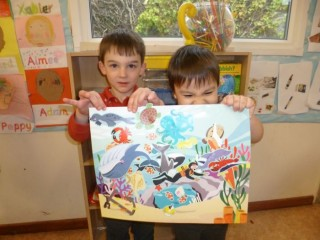 Under the Sea creation Adam and Ethan