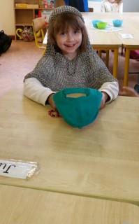 Julia in viking chainmail