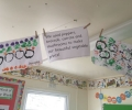 Junior infants learning by doing