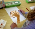 Autumn Handprints: Senior Infants
