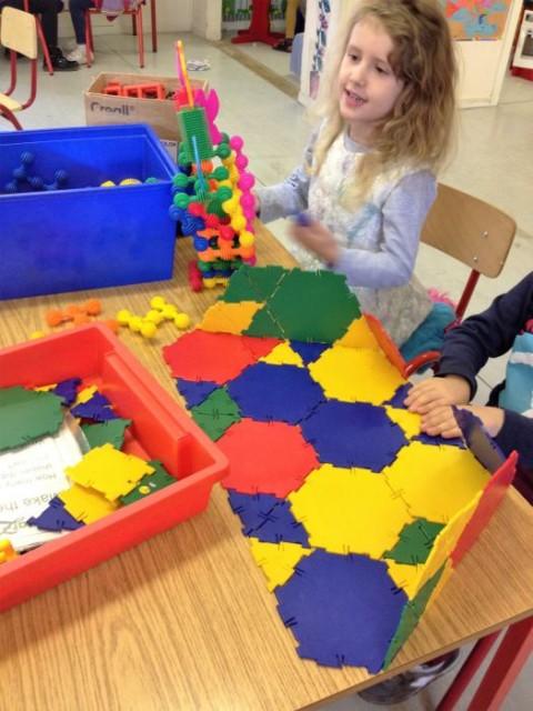 Senior infant work on Homes and Houses