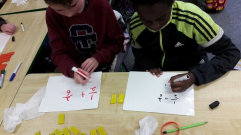 Fractions with Dominoes