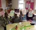 Aine's hardworking senior infants
