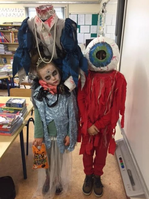 Halloween Fun with Third class