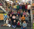 Junior infants visit O'Mahony's Bookstore