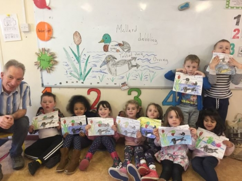 Rachel's class learn about Ducks