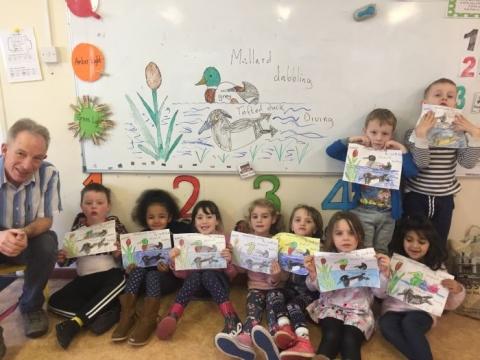 Rachel's class learn about Ducks