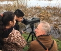 Birdwatching with Siobhan's class