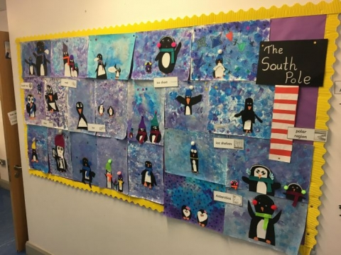 Winter Art Around the  School