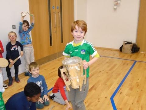 Liam McCarthy Cup Visit