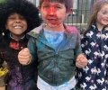 Infants and Sixth Class Mark Hindu Festival of Holi
